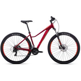 "ORBEA MX ENT 60 29"" garnet/orange"